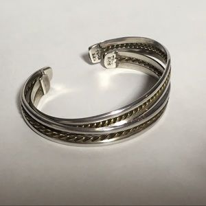 Jewelry - Sterling rope bracelets